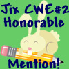 CWE 2 honorable mention